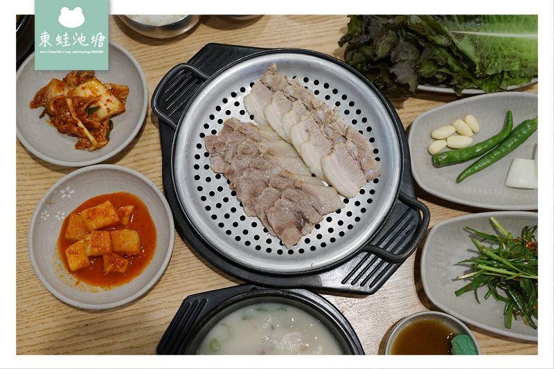 【釜山西面豬肉湯飯推薦】有中文菜單 用餐環境乾淨舒適 密陽加山豬肉湯飯 밀양가산 돼지국밥