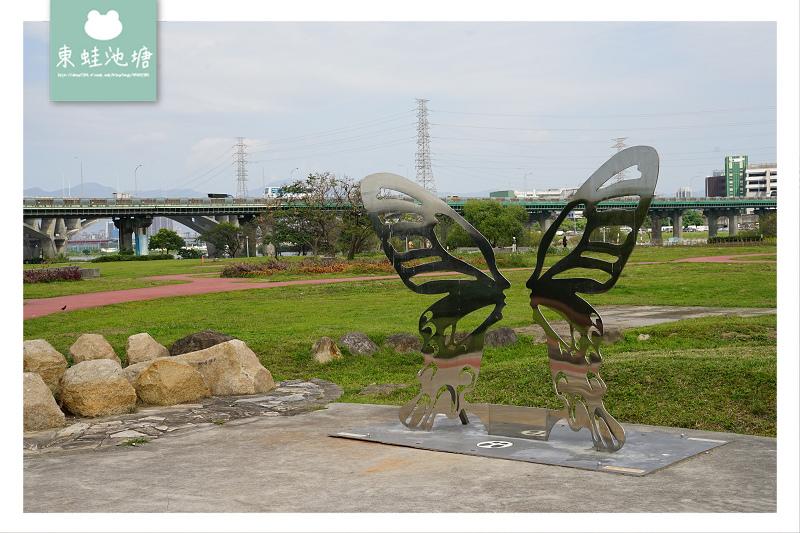 【板橋免費景點推薦】江子翠河濱綠地 遙控車賽車場 江翠礫間水岸公園