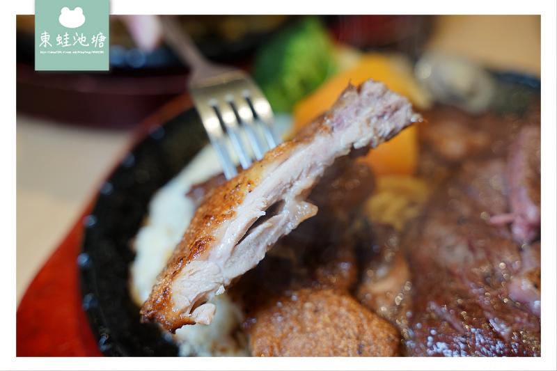 【基隆牛排館推薦】當月壽星享七折 巨無霸原塊肋眼牛排 月之牛炙燒牛排專賣店
