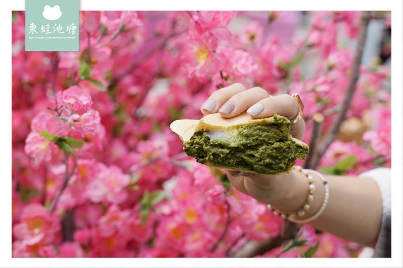【青畑九號豆製所台北快閃店】甜點控快來統一時代百貨 期間限定奈良櫻花牛奶燒 小山園白玉抹茶燒