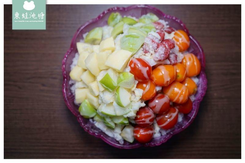 【澎湖小吃推薦】美味炒飯小管麵線 超大份量綜合水果冰 ㄚ咘甜蜜食堂