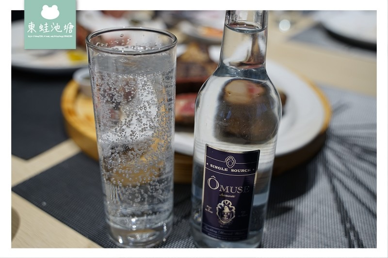 【義式料理搭配飲品推薦】OMuse 歐慕仕英國貴族微氣泡礦泉水 天然泉水源自英國威爾斯山脈