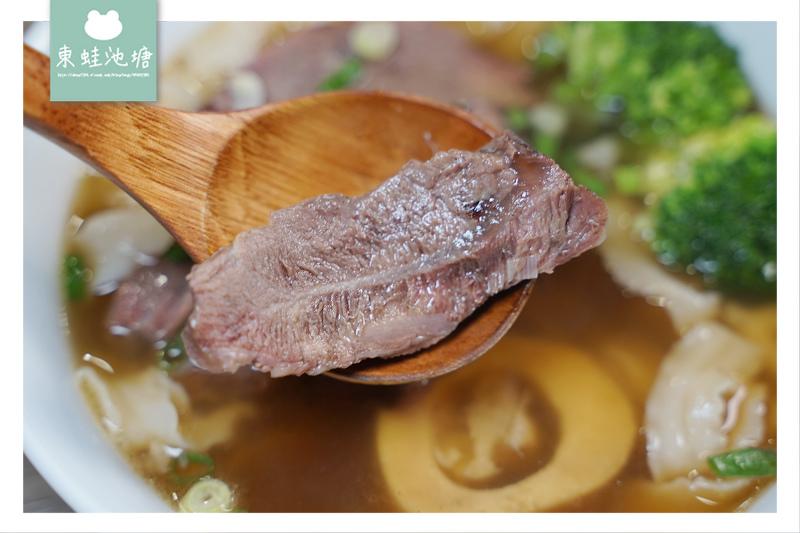 【台北牛肉麵推薦】長春路美食 美味油潑椒麻黃鱔霜降牛麵 台灣郎正宗牛肉麵