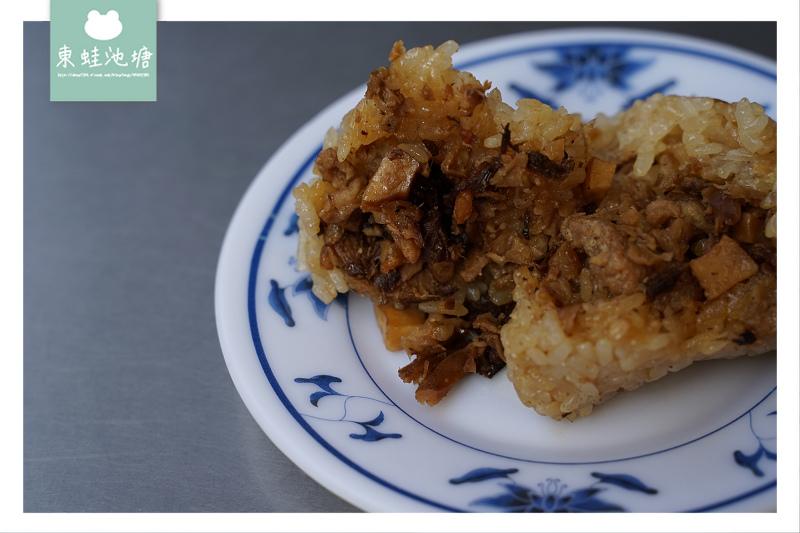 【苗栗市區小吃推薦】美味客家肉粽 甘甜當歸鴨 老牌肉粽當歸鴨麵線