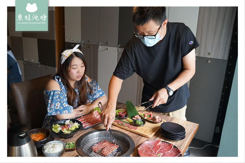 【桃園寶山商圈美食推薦】炭火燒肉牛舌七吃 雙人精緻套餐組合 和東燒肉屋