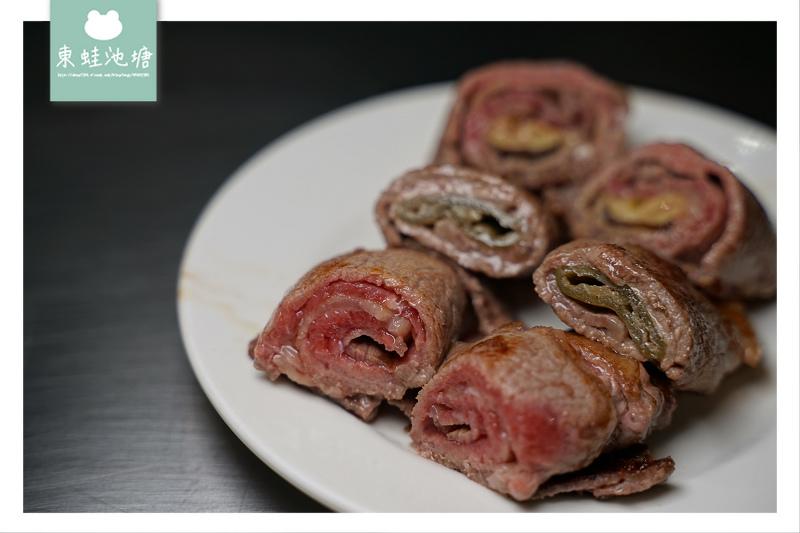 【新竹鐵板燒推薦】必點綜合牛肉捲 客製化無菜單料理 宏禧鐵板燒中華店