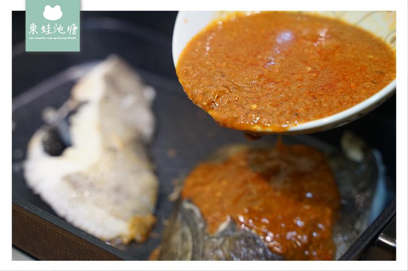 【海揚鮮物 海鮮水產批發直營店】椒麻比目魚頭組 在家也可以吃到餐廳級料理