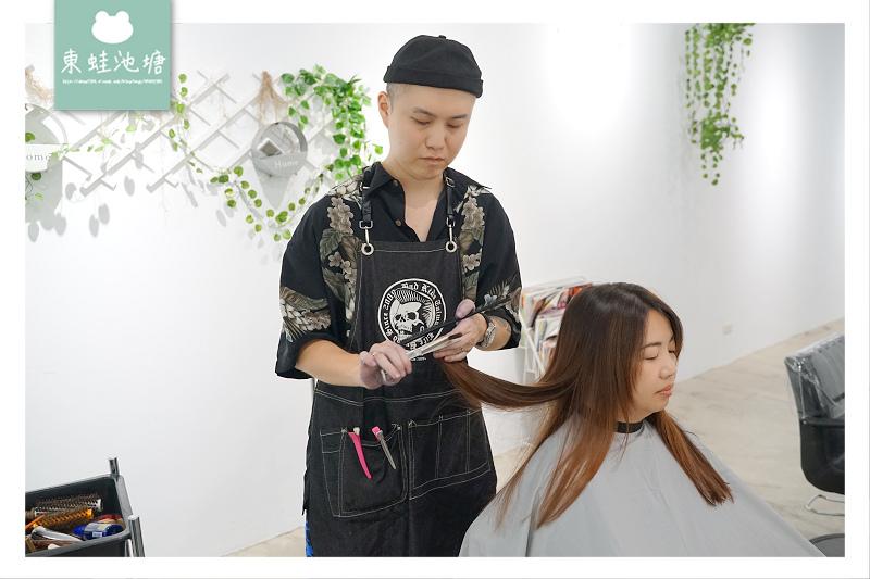 【竹北美髮沙龍推薦】線條感漸層手刷染 輕鬆擁有歐美巨星髮色 精萃髮廊二館