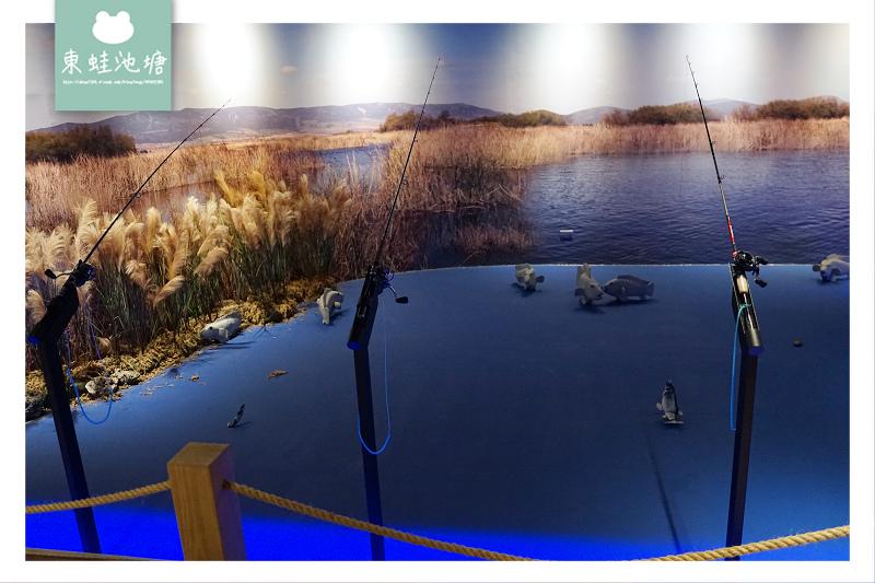 【台中潭子室內景點推薦】全球唯一巨無霸旋轉釣魚機 親子同遊好選擇 寶熊漁樂碼頭