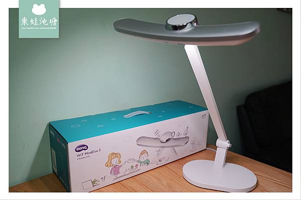 【閱讀檯燈推薦】95cm超廣照明 入座感應自動開燈 BenQ親子共讀護眼檯燈 WiT MindDuo S