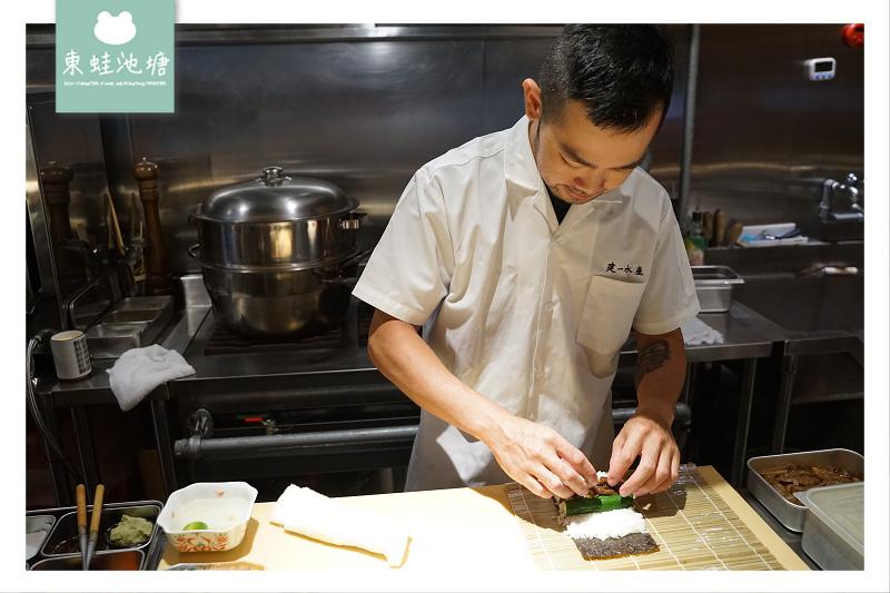 【台北八德路商業午餐推薦】平日午間限定建一壽司套餐 安東建一水產