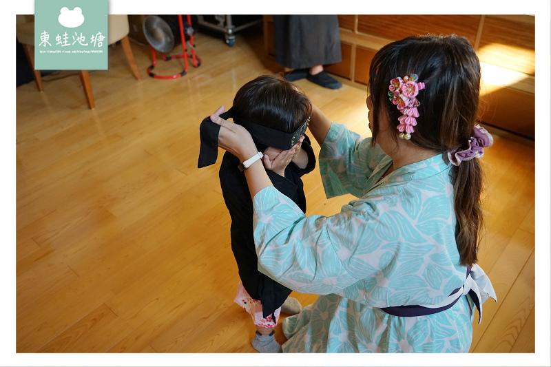 【宜蘭五結行程推薦】浴衣忍者角色扮演 和菓子手作體驗 綠舞日式主題園區