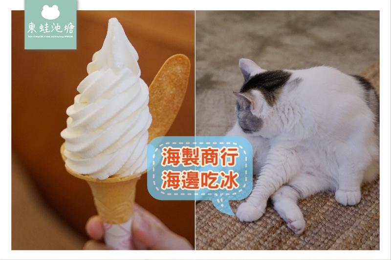【宜蘭頭城冰淇淋推薦】比基尼&霜淇淋工作室 海製商行/海邊吃冰/浪人店