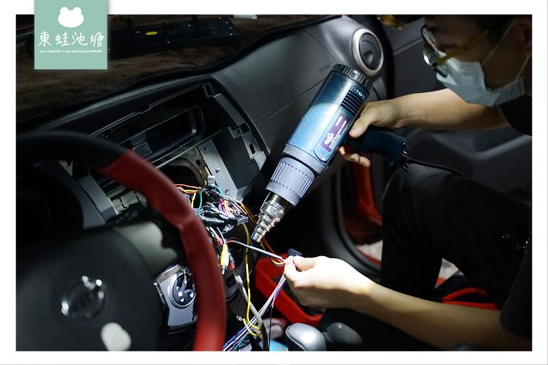 【桃園超便宜車用音響店】1O.2吋安卓專用機安裝心得分享 CCD倒車攝影鏡頭升級