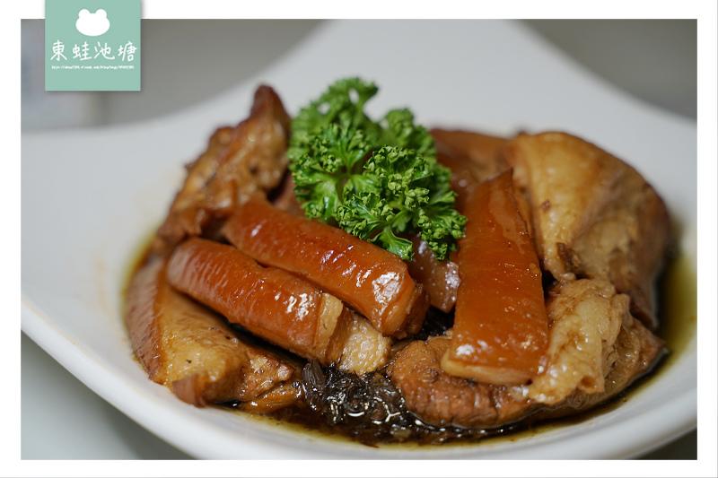 【苗栗三義美食推薦】美味梅干扣肉/老皮嫩豆腐 十六份人文茶館