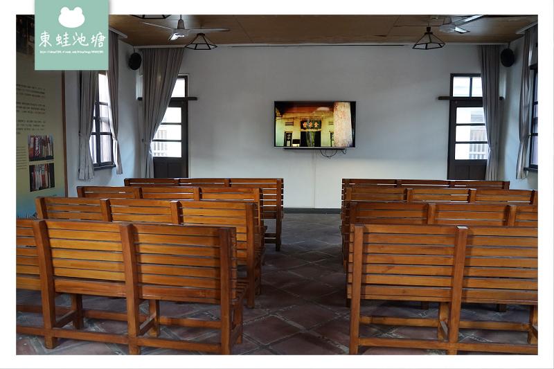 【金門金城免費景點推薦】興建於1932年 番仔厝「回」字型傳統書院 金水學校展示館