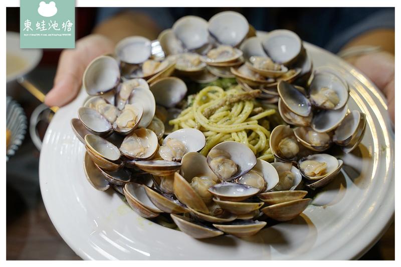 【台中沙鹿美食推薦】100顆蛤蜊只要100元 寵物友善餐廳 倉庫3家