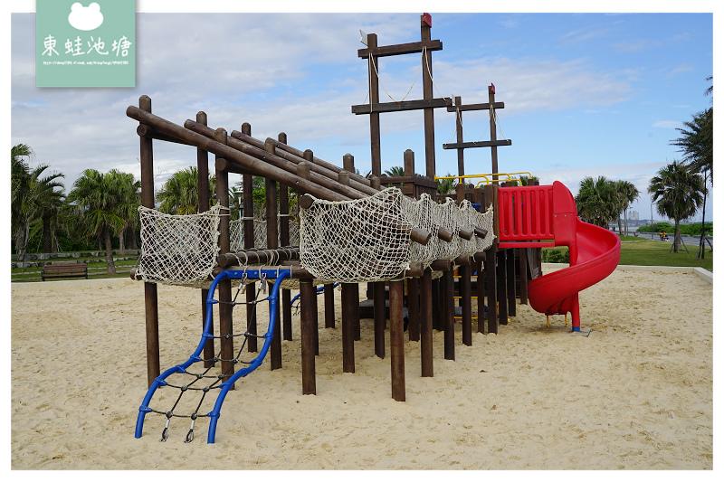 【花蓮親子公園推薦】絕美海景親子遊戲場 大象磨石子溜滑梯 太平洋公園