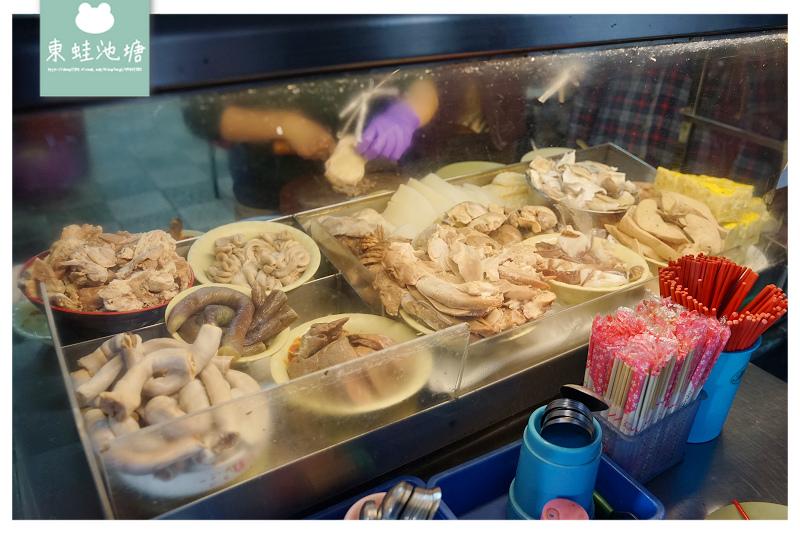 【台南國華街小吃推薦】在地80年老店 台南必吃銅板美食 阿龍香腸熟肉