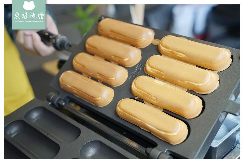 【台中草悟道雞蛋糕推薦】現點現烤絕妙口感 大推OREO餅乾/德式香腸口味 MAJI 瑪吉雞蛋糕