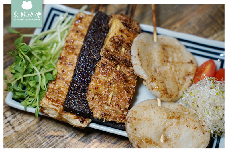 【台中北區居酒屋推薦】美味經典串燒拼盤 可口多汁牛肉捲 火奴魯魯總店
