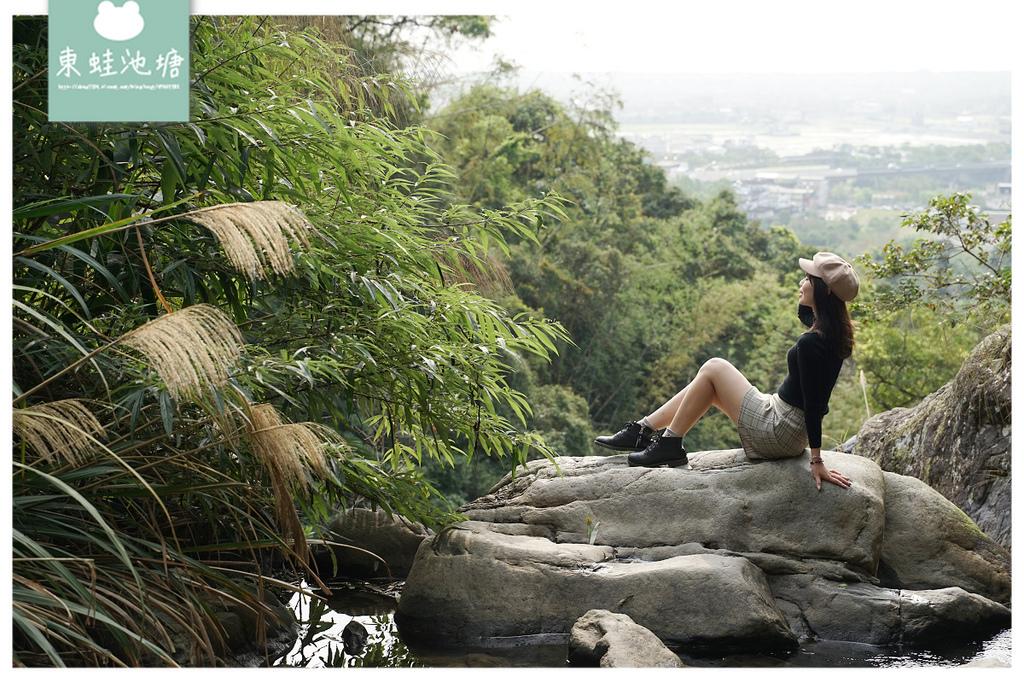 【宜蘭礁溪免費景點推薦】網美打卡必訪景點 10分鐘輕鬆攻頂 猴洞坑瀑布