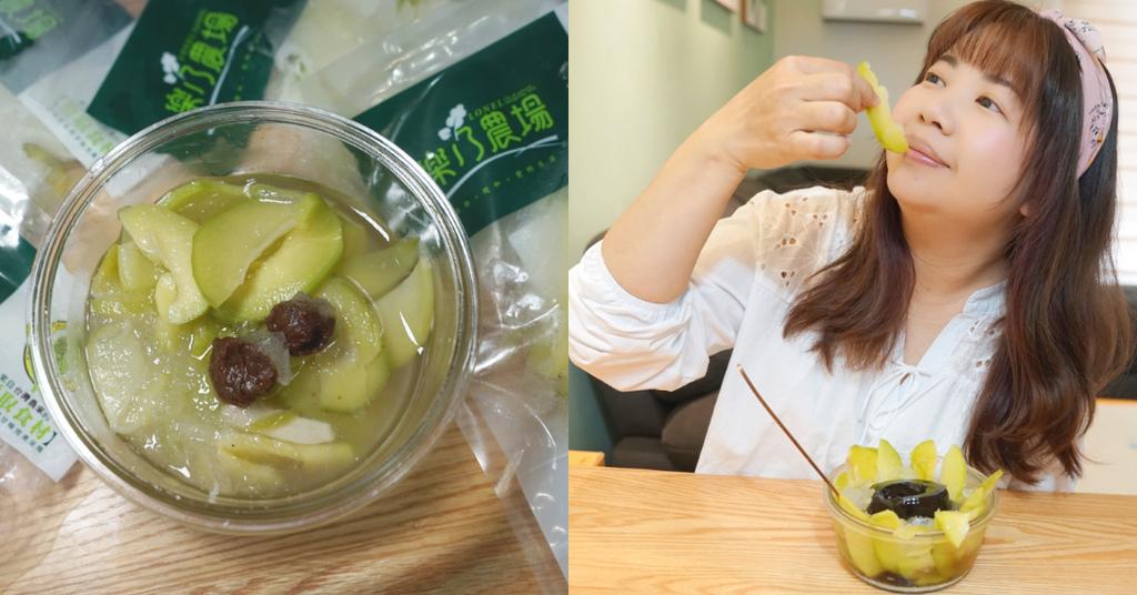 【樂乃農場芒果青】夏日必吃古早味冰品 自製冰沙冰品安全又美味