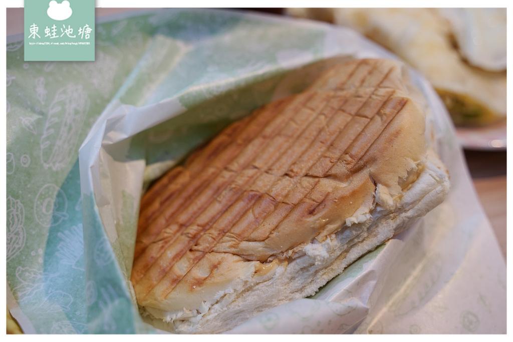 【中原大學早餐店推薦】新中北路早餐好選擇 美味花生醬培根古巴三明治 漢堡樹中原店