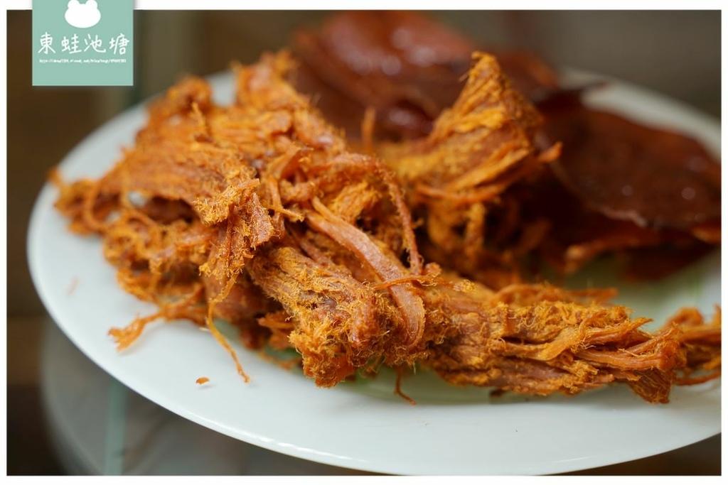 【大甲伴手禮推薦】創立於1952年 美味招牌祖傳肉角/首創肉絲 萬全馨食品行