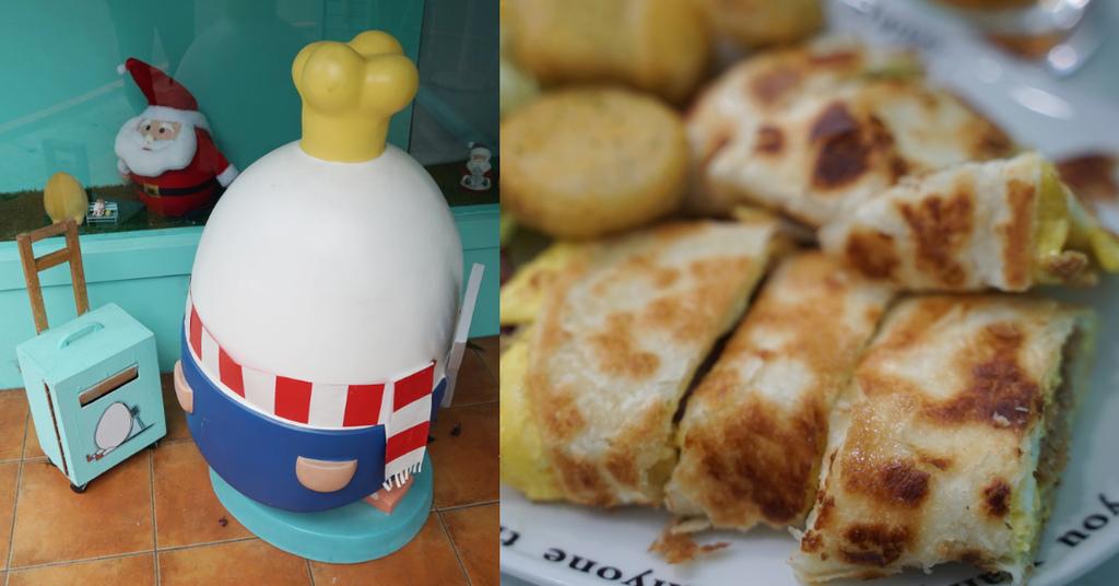 【藝文特區早午餐推薦】蛋蛋主題+Tiffany藍 酥脆厚實蛋餅 等等早午餐