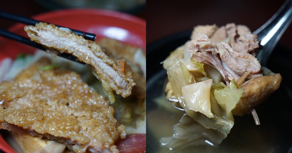 【屏東市區宵夜推薦】好吃排骨飯/肉燥飯 美味鹹菜鴨湯 屏東夜市兄弟快餐