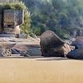 大地觀物7  2010  108x52cm