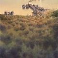 大地觀物13   2011  54x74cm-- 島嶼風情 3