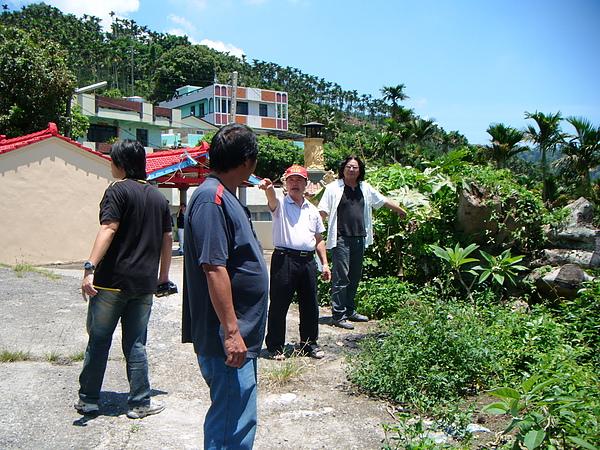 20100716東山自然休閒步道確認4個入口處&3處休憩點設置位置與模式 (6).JPG