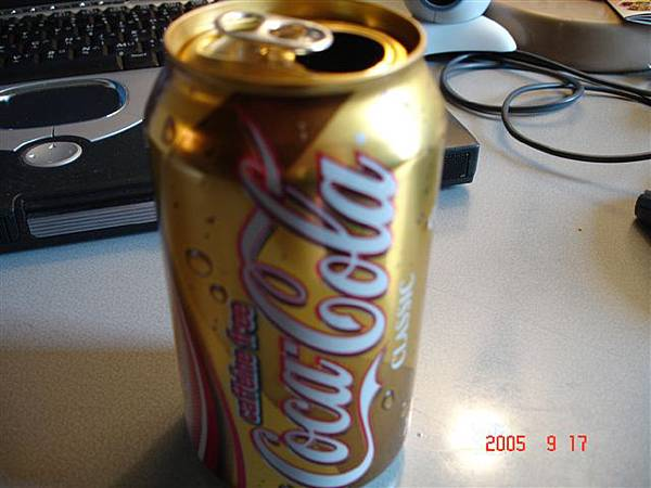 金色可口可樂發現