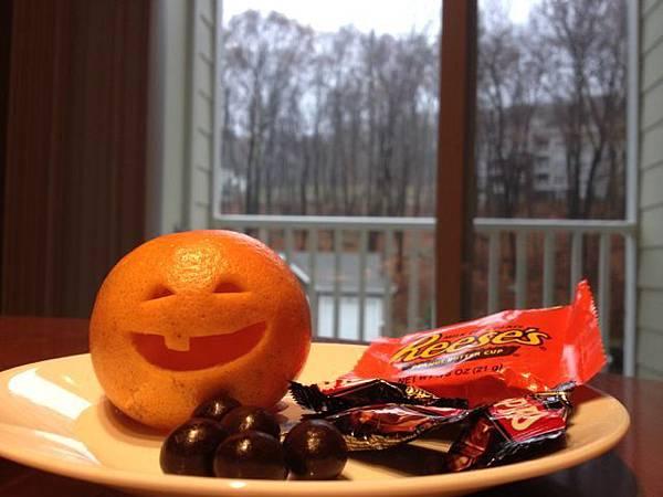 萬聖節橘子