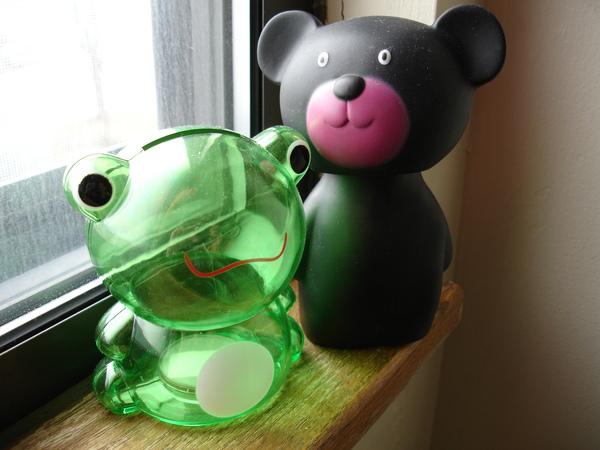 小熊與小青蛙