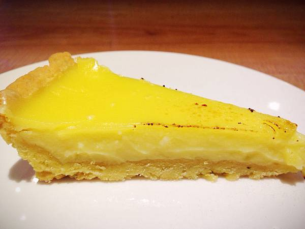 lemon tart(Heston)