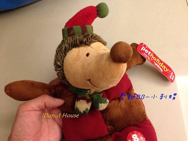 聖誕BB-小刺蝟-2