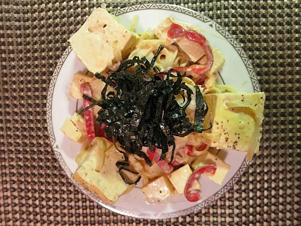 20130508豆腐超義大利麵3