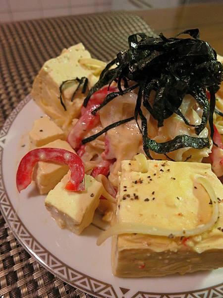 20130508豆腐超義大利麵4