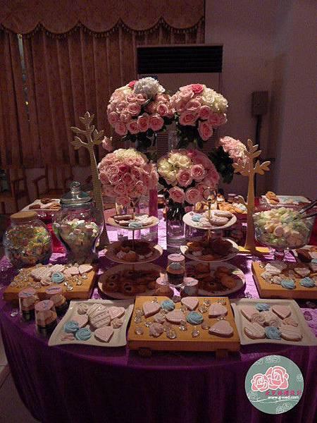高雄朵兒婚禮設計--迎賓茶會區