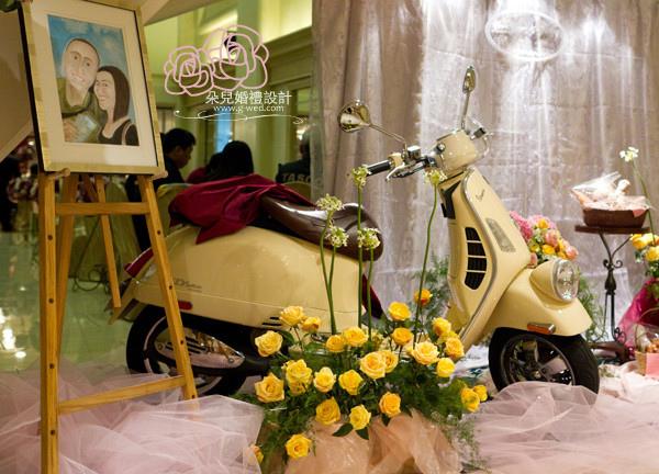 高雄朵兒婚禮 2011 01 30 寒軒3F 氛圍區佈置