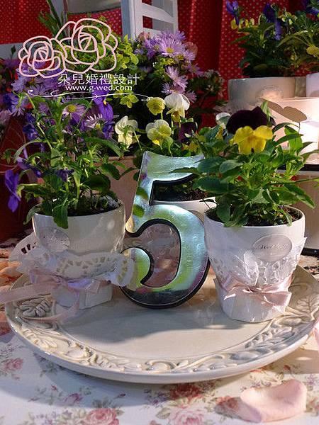 高雄朵兒婚禮2011 12 05高雄-田記豆漿流水席布置