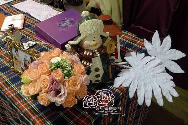 高雄朵兒婚禮 2011 12 25 高雄 香蕉碼頭 收禮桌
