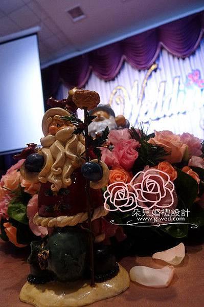 高雄朵兒婚禮 2011 12 25 高雄 香蕉碼頭 主桌布置