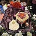 朵兒婚禮設計-葡萄紫 收禮桌佈置