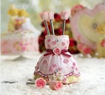 高雄婚禮顧問 朵兒婚禮設計- 婚禮小物 公主裙擺水果叉