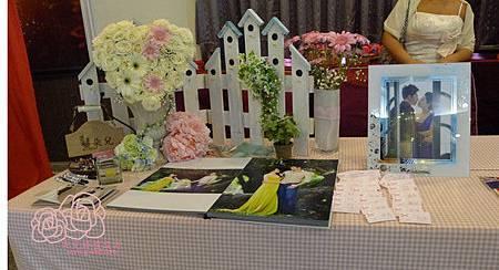 高雄婚顧 朵兒婚禮﹣小港三姐妹會館﹣愛在塔斯馬尼亞 收禮桌一