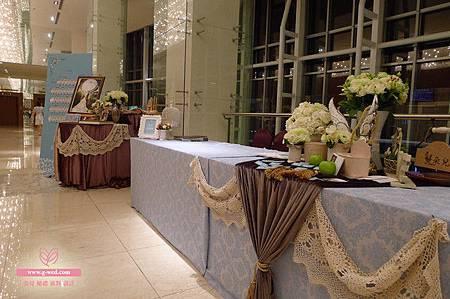 朵兒 漢來巨蛋金龍廳 收禮桌佈置